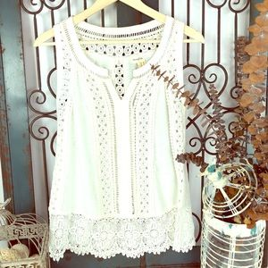 Anthropologie meadow vintage inspired blouse